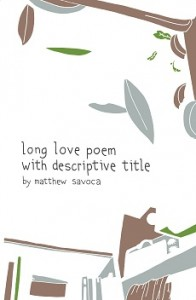 long love poem front cover